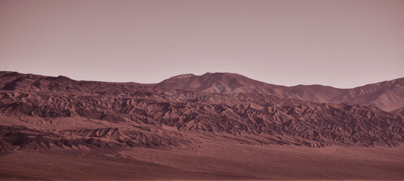 Promenade sur Mars image stock