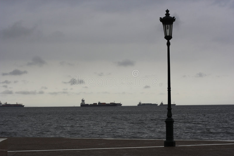 Download Promenade In Thessaloniki Royalty Free Stock Photos - Image: 4977298