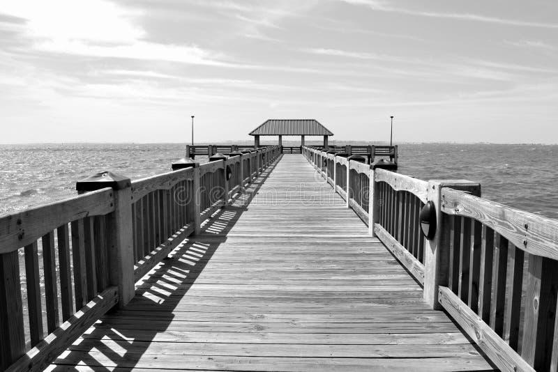 Promenade zum Himmel stockfotografie