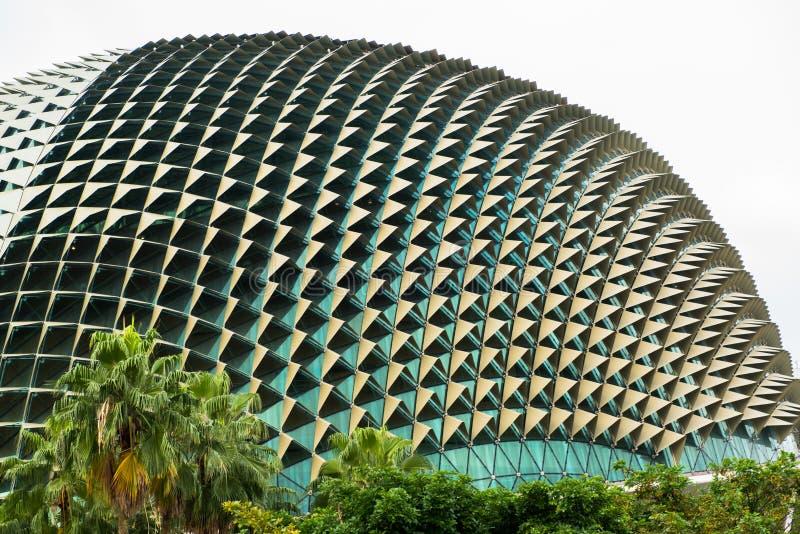 Promenadeconcertzaal in Singapore royalty-vrije stock foto