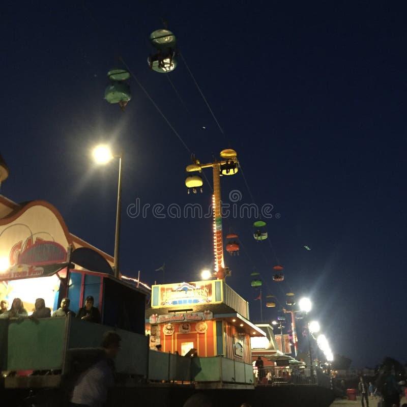 Promenadenachten stock afbeeldingen