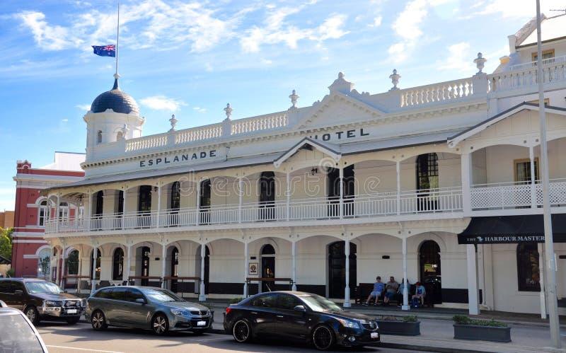 Promenadhotell: Fremantle västra Australien fotografering för bildbyråer