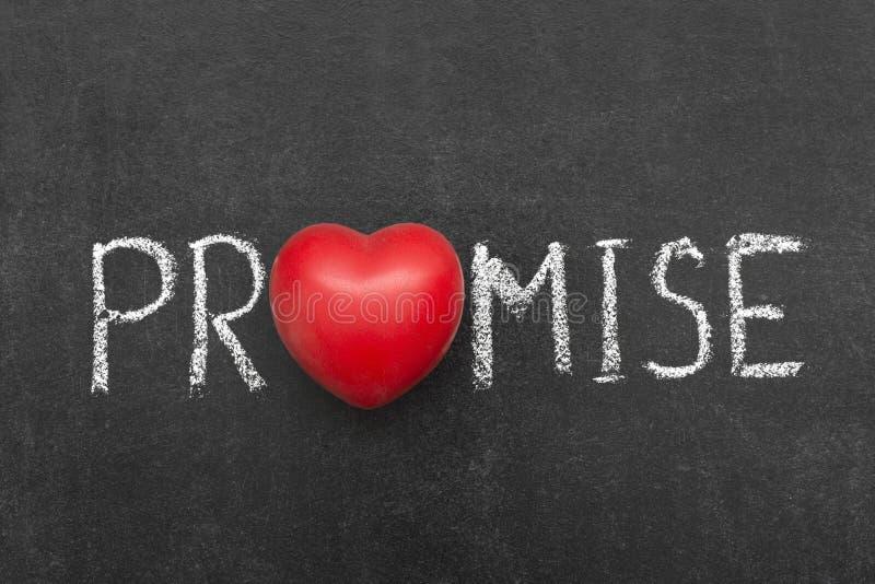 promessa imagens de stock