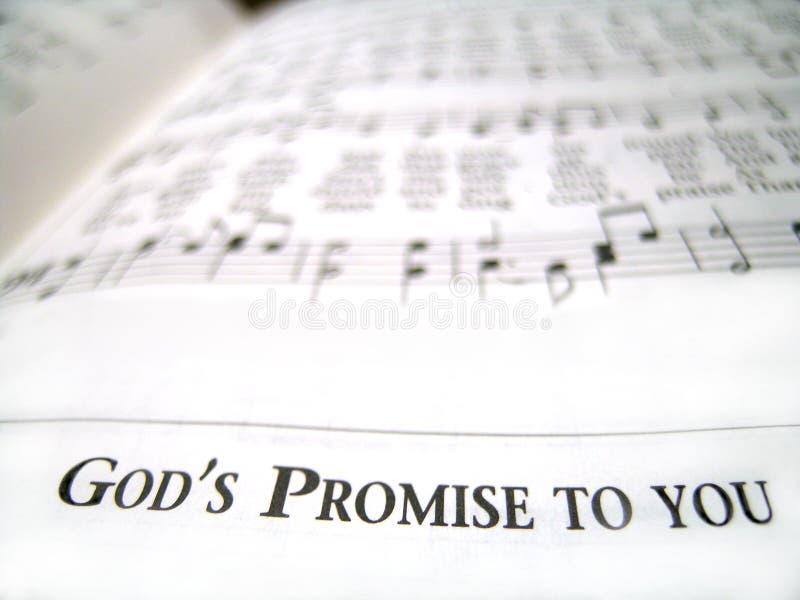Promessa del dio a voi fotografie stock