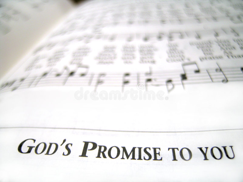 Promessa do deus a você fotos de stock