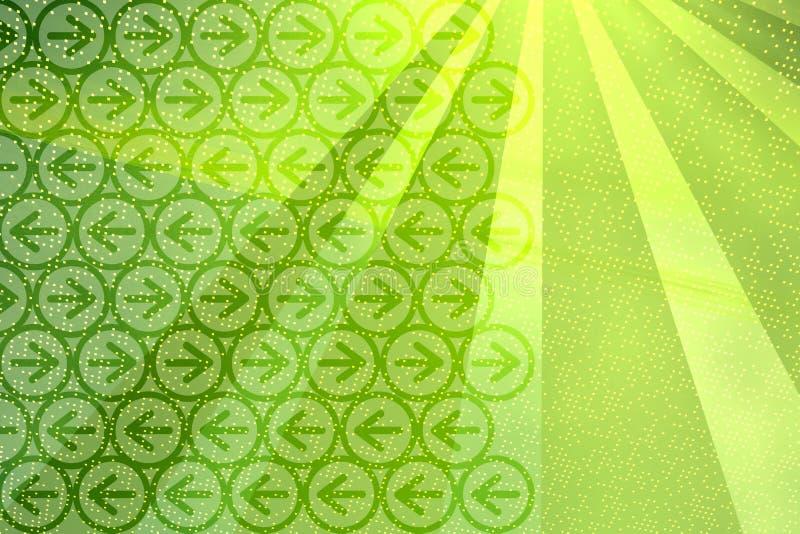 promienie tła strzałki ilustracja wektor