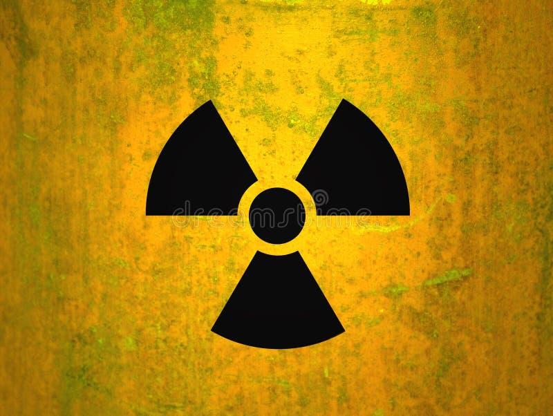 promieniotwórczość ilustracja wektor