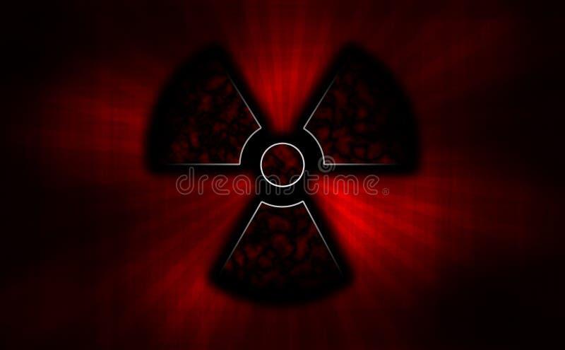 promieniotwórczy ilustracji