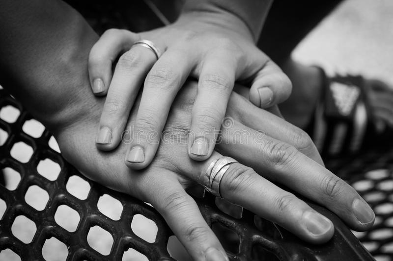 Promise Rings royalty free stock image