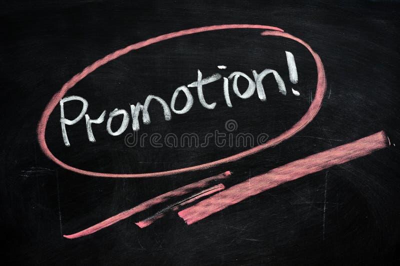 Promoção foto de stock
