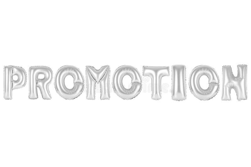 Promoção, cor do cinza do cromo imagens de stock