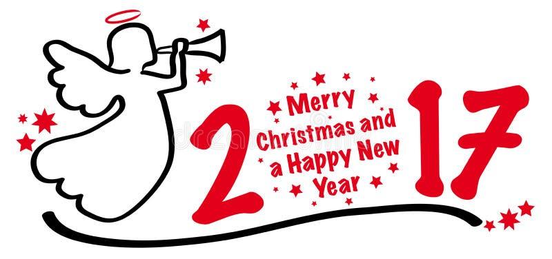 Promoção de venda do Natal ilustração do vetor