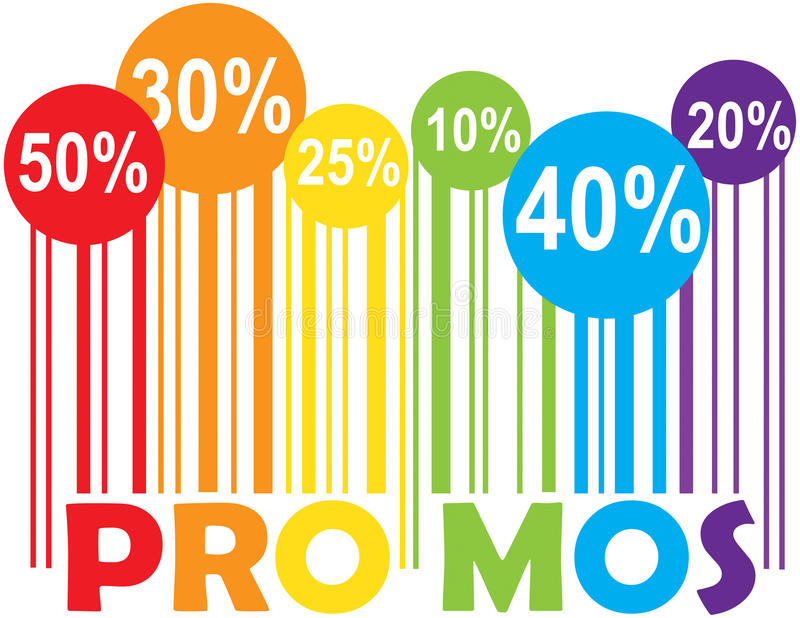 Promo Promotions royalty free stock photos