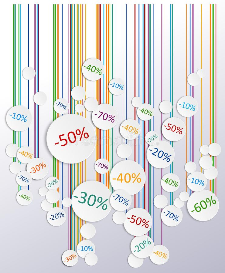 Download Promo soldes board stock illustration. Image of background - 31438794