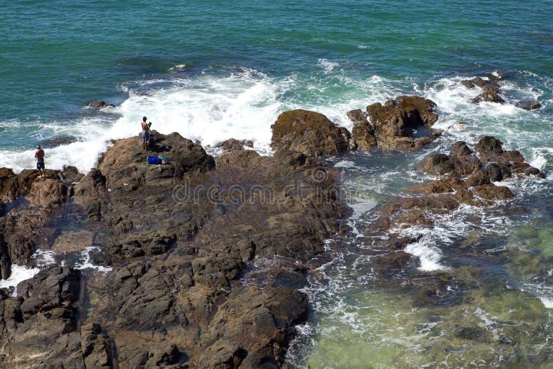 Promontório rochoso imagens de stock