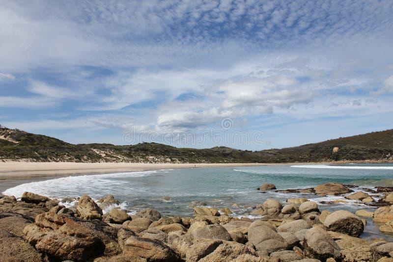Promontorio Australia de Wilsons de la bahía de la comida campestre imágenes de archivo libres de regalías