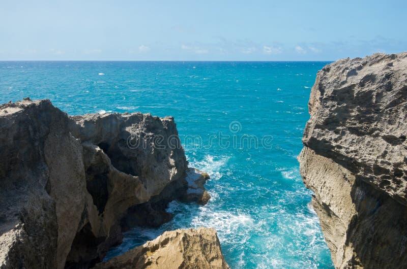 Promontorio en Punta Las Tunas foto de archivo libre de regalías