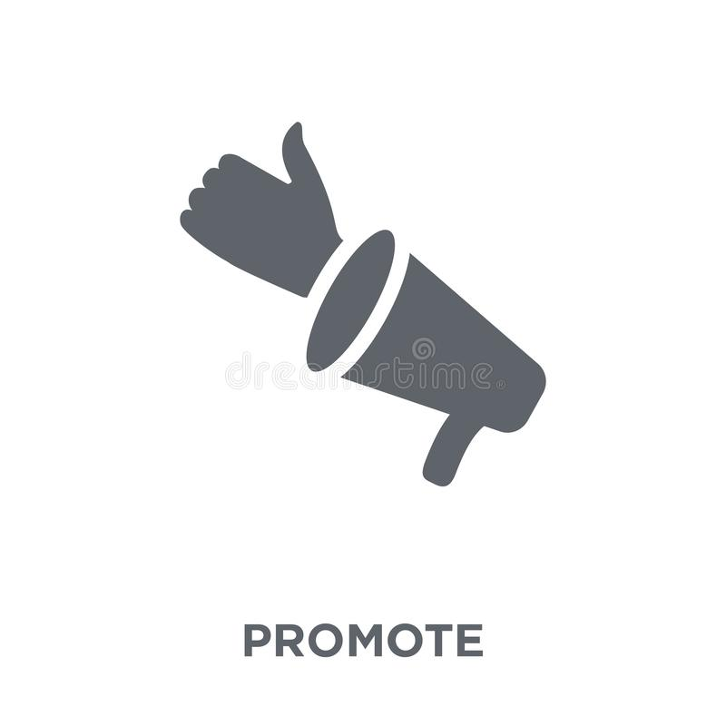 Promote icon from Marketing collection. royalty free illustration