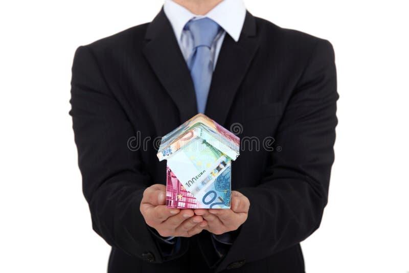 Promoteur immobilier images stock