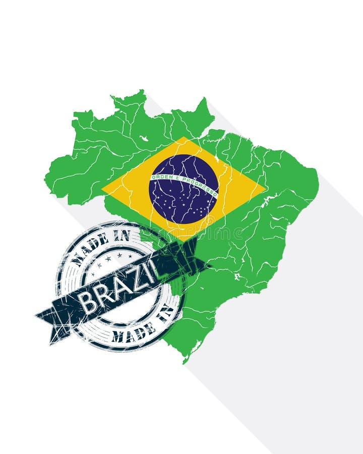 Promotiepak Van Brasilia stock illustratie