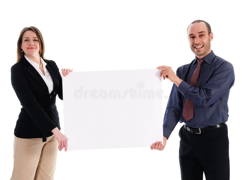 Promotion d'affaires photo libre de droits