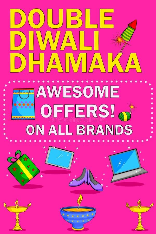 Promotion heureuse de vente au rabais de Diwali