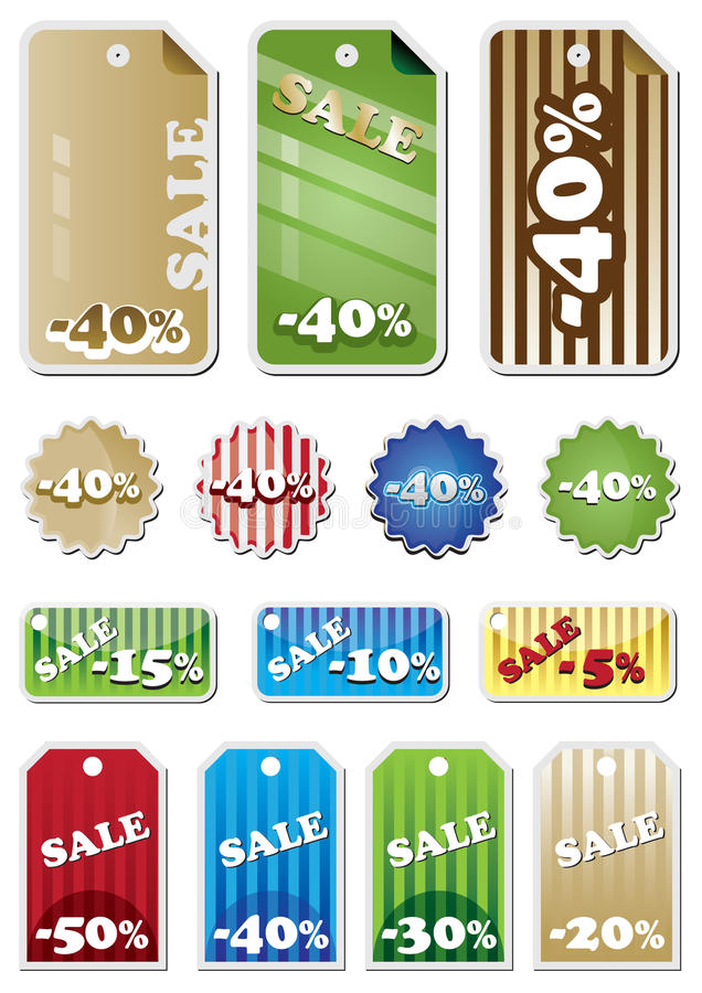 Download Promotion Shopping Marks Stock Photos - Image: 10311333