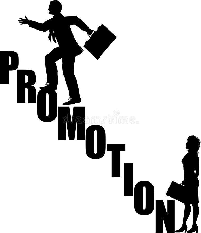 Promotion_stairs ilustración del vector