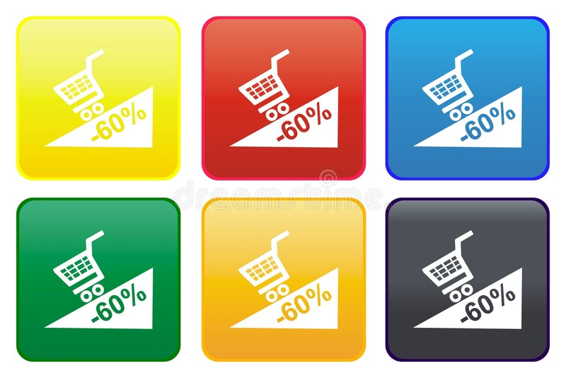 Download Promotion Web Button Royalty Free Stock Photography - Image: 8760337