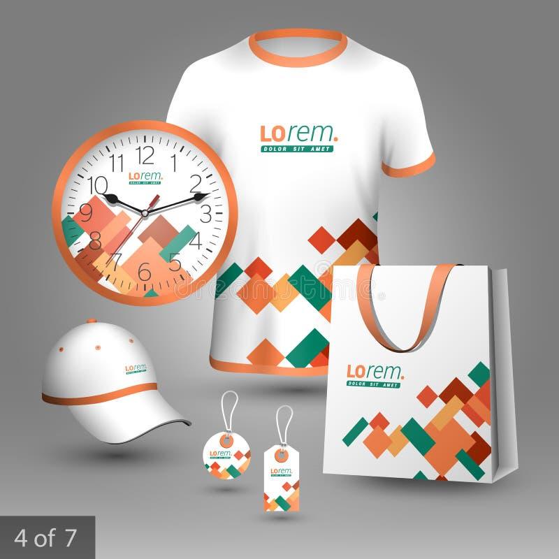 Promotional elements design vector illustration