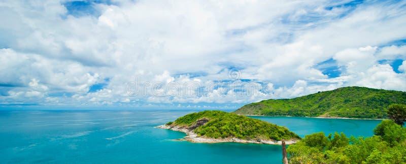 Promthep przylądek, Phuket Tajlandia zdjęcia stock
