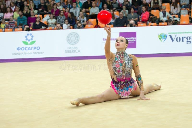 Pronchenko Veronika, Lituânia fotografia de stock