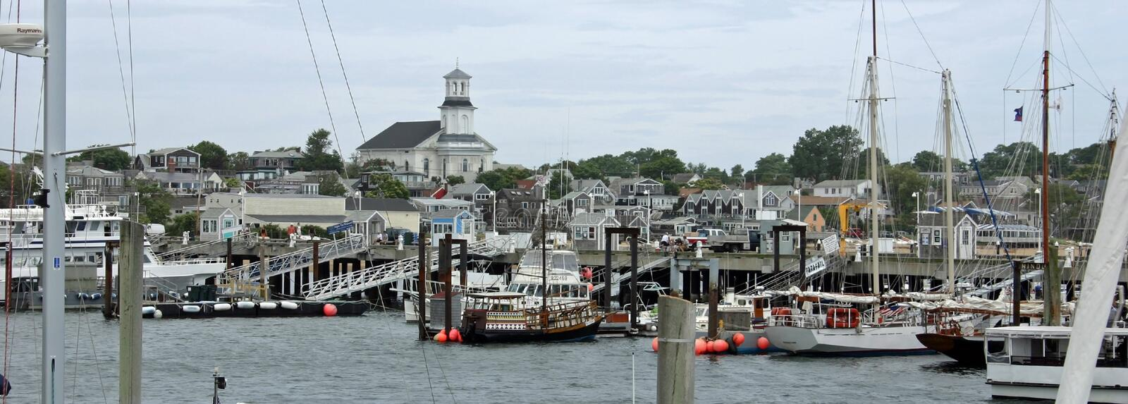 Pronvincetown Harbor royalty free stock images