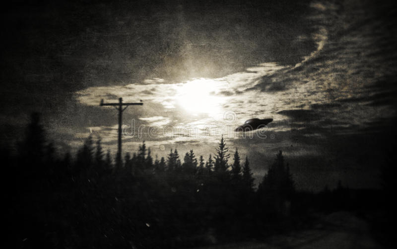 Proof of Aliens in Alaska! royalty free stock photos