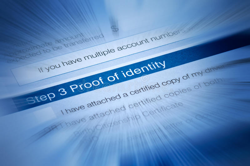 Download Identity Security Theft Document Stock Photo - Image: 34031516