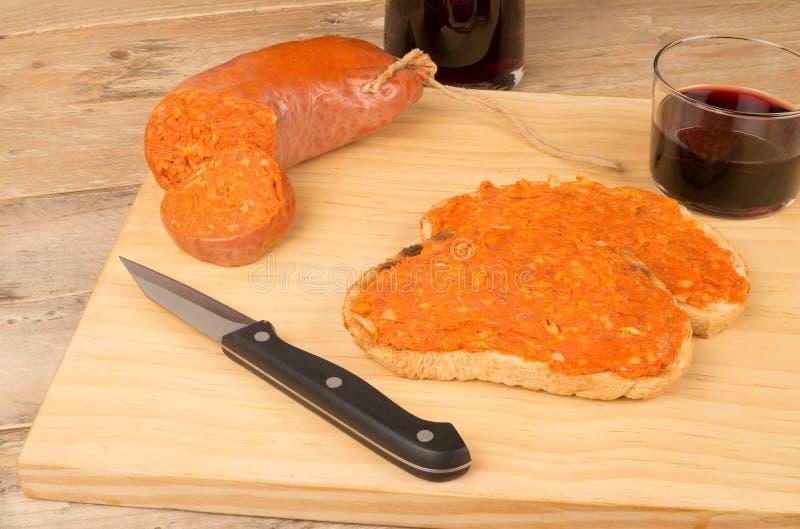 Download Propagação de Sobrasada imagem de stock. Imagem de cuisine - 29838703