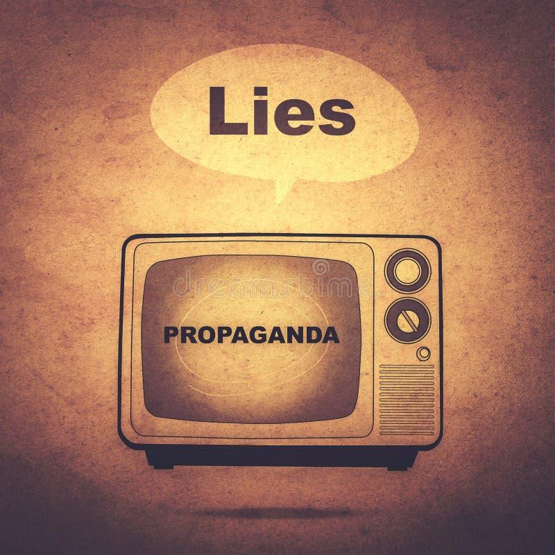 propaganda royalty-vrije illustratie