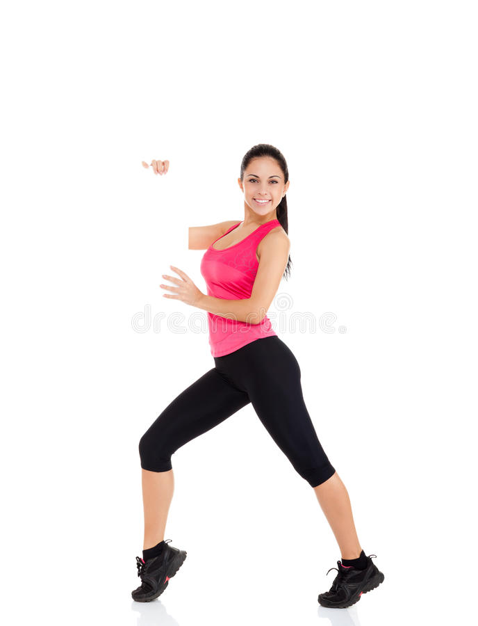Download Mulher Da Aptidão Do Esporte Foto de Stock - Imagem de cartão, aptidão: 29849428