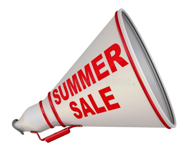 Propaganda da venda do verão ilustração stock