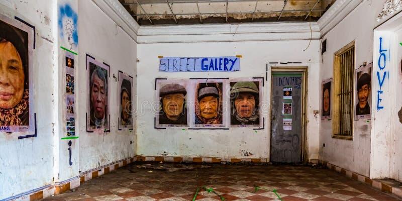 Propaganda, Hanoi, Vietnam stock foto