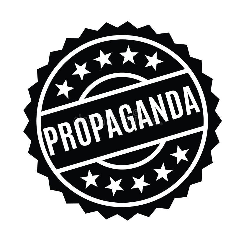 Propagandastempel auf Deutsch vektor abbildung