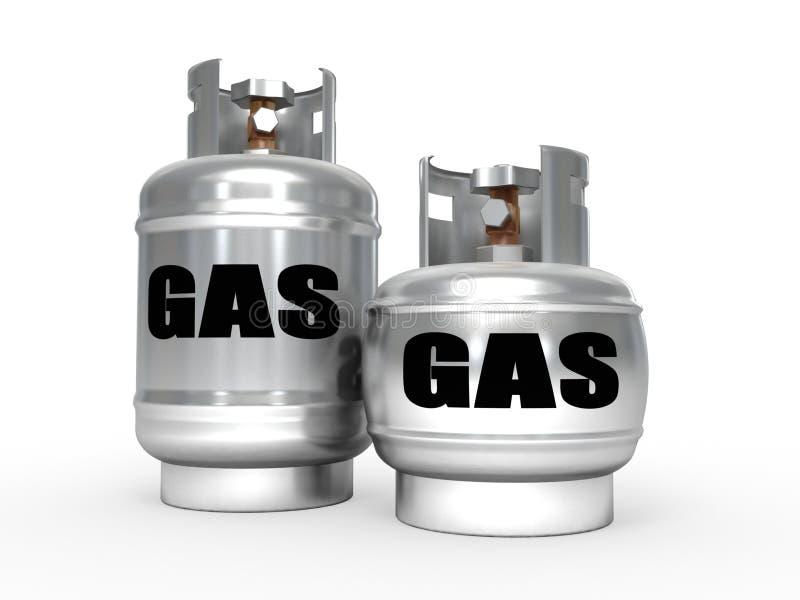 propanów benzynowi zbiorniki ilustracji