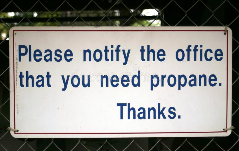 Download Propane stock photo. Image of notify, signage, sign, fuel - 319828