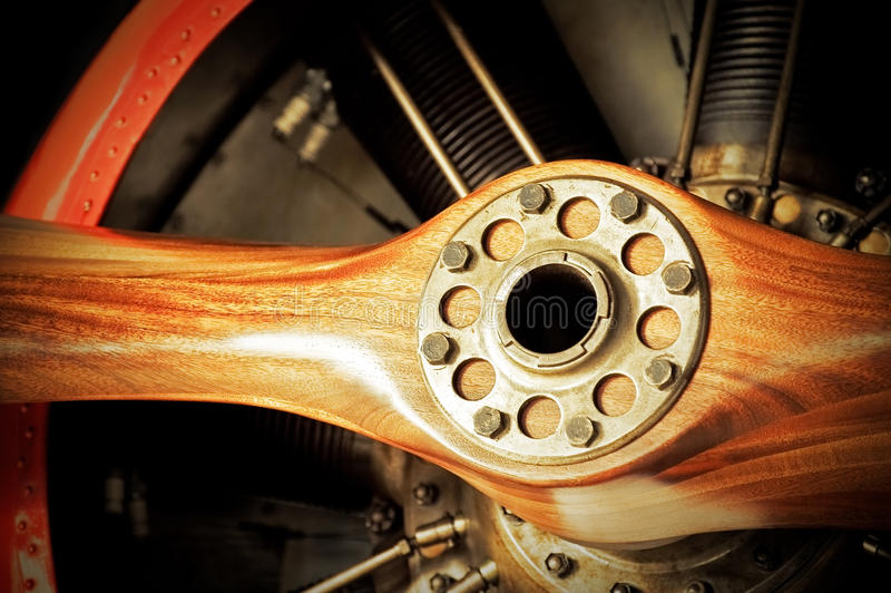 propeller arkivfoton
