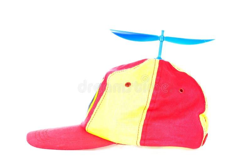 Propeller cap royalty free stock image