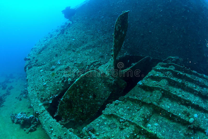 Download Propeller of Chrisula K stock photo. Image of propeller - 26643324