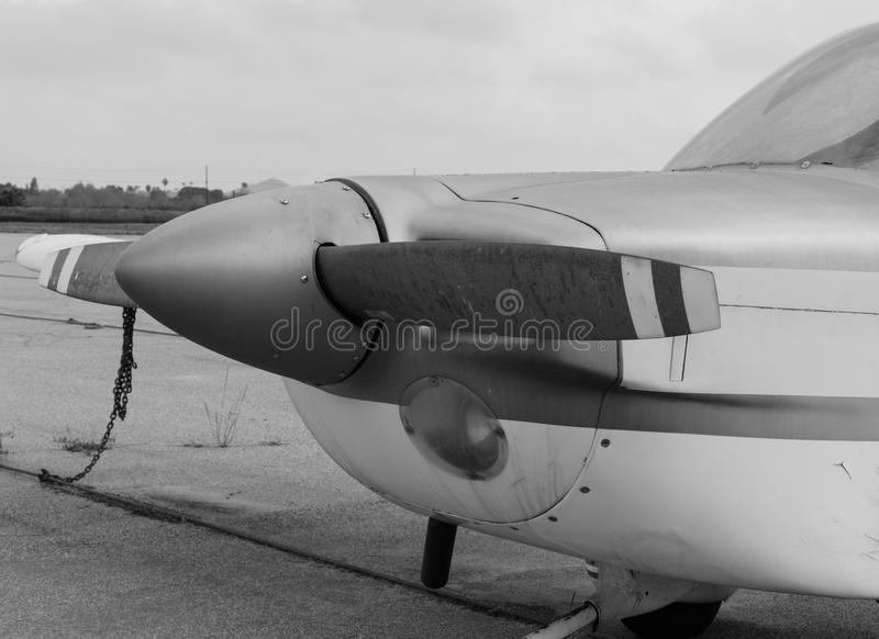 Propeller kleine vliegtuigen royalty-vrije stock fotografie