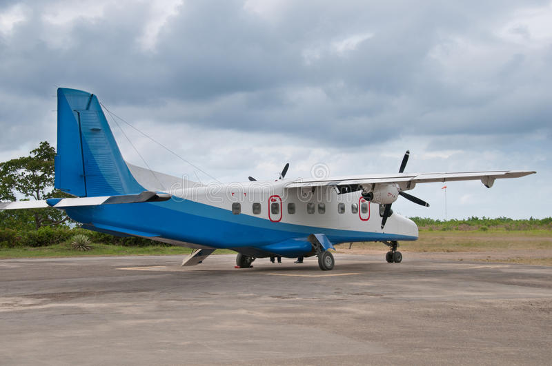 Download Propeller plane stock image. Image of commercial, light - 20627511