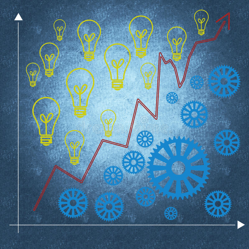 Download Business Management And Business Success Stock Illustration - Image: 29803829
