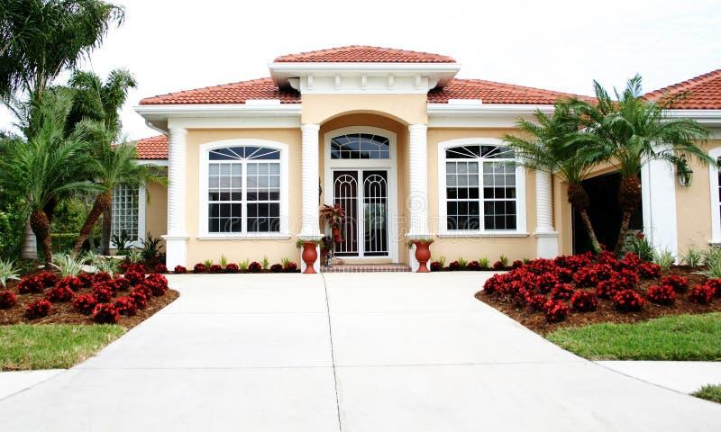 Proper Nieuw Huis stock afbeelding